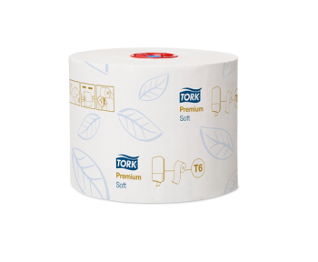 Туалетная бумага Tork Premium midi, 2-сл.,90 м. Арт. 127520