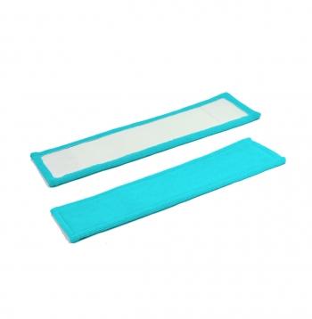 Сменная насадка МОП для плоской швабры 40 см цветная
