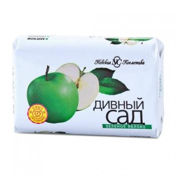 """Мыло НК """"Дивный сад"""" Зеленое яблоко/овал 90 гр"""