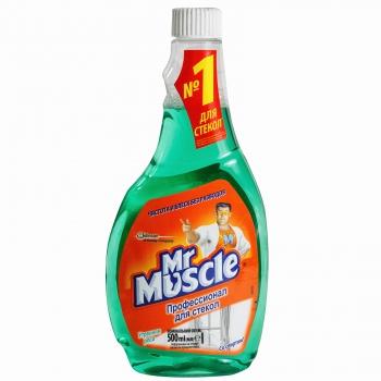 Средство для чистки  стекол «Мистер Мускул» После дождя, 500 мл
