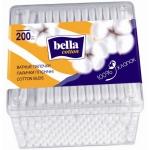 Палочки ватные «Bella» (Белла) 200шт., коробочка