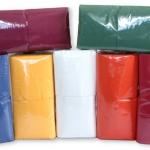 """Салфетки бумажные """"Сыктывкарские"""", 400 л., 1- сл., 24х24 см, бордовые."""