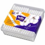Палочки ватные «Bella» (Белла) 100шт., пластиковая коробочка
