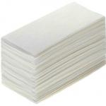 Полотенца бум. листовые Стандарт, 1 сл., 250л., V-складка Т-0222