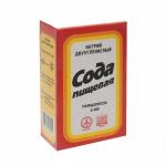 Сода пищевая 500 гр в картоной упаковке