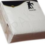 Салфетки бумажные «Stile Classic»,100 л., 1-сл., 24х24 см, белые