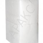 Салфетки бумажные Брянск, 400 л., 1- сл., 24х24 см, 100% белизна.