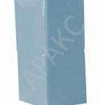 Салфетки бумажные Брянск, 400 л., 1- сл., 24х24 см, голубые пастель