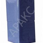 Салфетки бумажные Брянск, 400 л., 1- сл., 24х24 см, синие