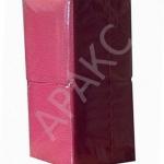 Салфетки бумажные Брянск, 400 л., 1- сл., 24х24 см, бордовые