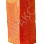 Салфетки бумажные Брянск, 400 л., 1- сл., 24х24 см, оранжевые
