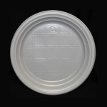 Тарелка пластиковая 16,7 см, 100 шт.