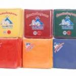 Салфетки бумажные «Сыктывкарские», 50 л., 1- сл., 24х24 см, желтые