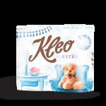 Туалетная бумага «Kleo Ultra» 3-слойная, 4 шт.
