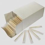 Зубочистки деревянные в индивидуальной упаковке 1000 шт