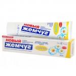 """Зубная паста """"Новый Жемчуг"""" Ромашка, 50 мл."""