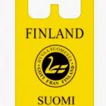 Пакет ПВД «майка» Suomi Finland желтый  30см*57см 35мкм