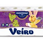 Полотенца бумажные «Linia Veiro Classic» 2сл., 4шт.