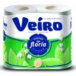 Туалетная бумага «Linia Veiro» Нежный ландыш  4шт. 2 сл
