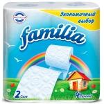 "Туалетная бумага ""Familia"" Радуга 4 шт. 2 сл"