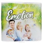 Туалетная бумага «Мягкий знак» «Emotion» 4шт., 3-сл. Белая