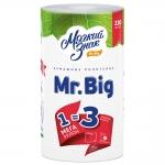 Полотенца бумажные  «Мягкий знак»  «Mr. Big» 2-сл., 1шт.