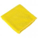 Салфетки из микрофибры 29*29 см желтые в упаковке