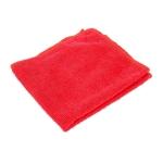 алфетки из микрофибры 29*29 см красные в упаковке