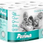 "Туалетная бумага ""Perina"" 12 рулонов, 3-слойная"