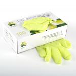 """Перчатки смотровые нитриловые """"KLEVER"""" зеленые разм. M 1 шт."""